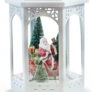 "Santa Lantern Led Light 18"""