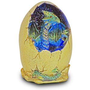 Dragon Egg Lamp Blue