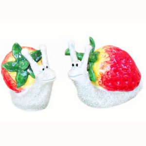 Snails with Strawberry