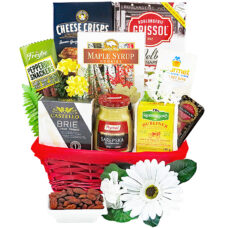 Bourbon Manor Cheese Basket