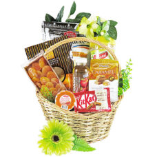 Goodies in a Handbasket