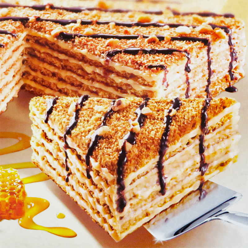 Marlenka Honey Cake