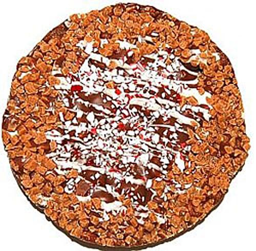 "Festive Chocolate Toffee Pizza 6"""