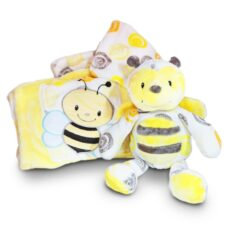 Bee Blanket and Plush